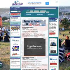 USAFestival.net – Amerika rendezvényportálja